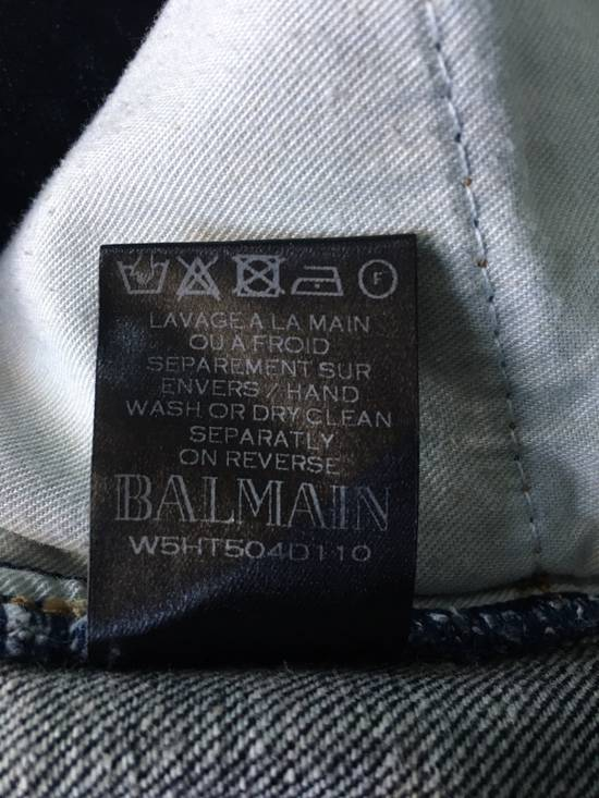 Balmain Blue Distressed Jean Size US 32 / EU 48 - 10
