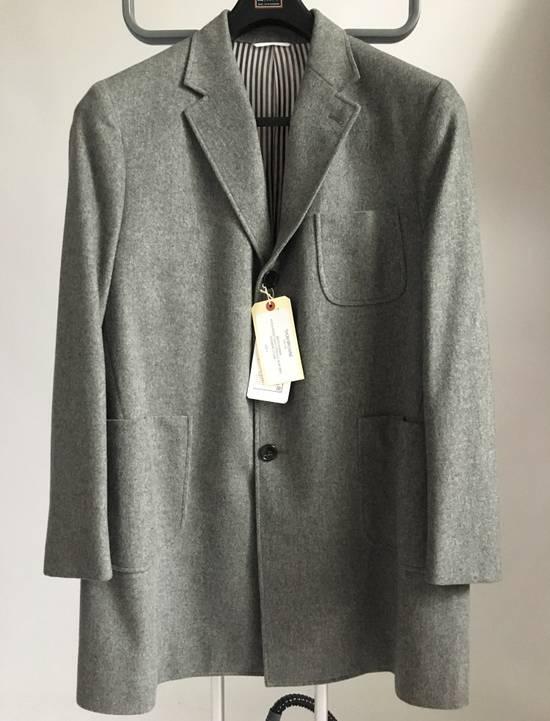 Thom Browne 100% Cashmere Patch Pocket Coat Size US XL / EU 56 / 4