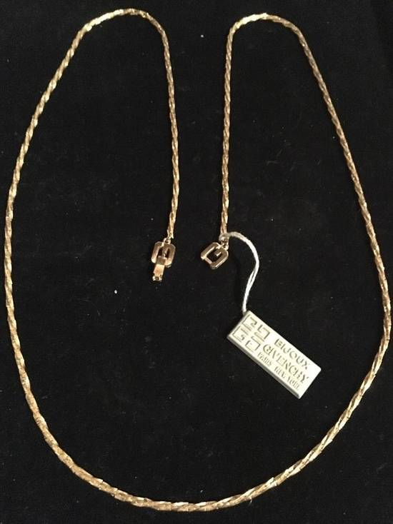 """Givenchy 31"""" New w/ Tags Gold Plate Chain Necklace Size ONE SIZE"""