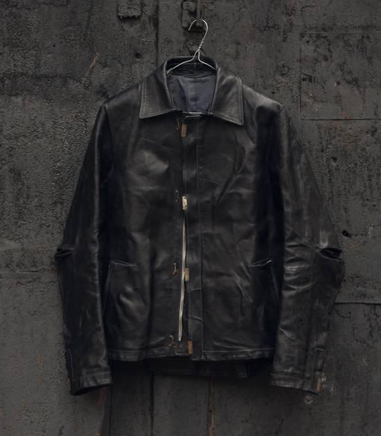 Carol Christian Poell scar stitch leather jacket Size US M / EU 48-50 / 2 - 4
