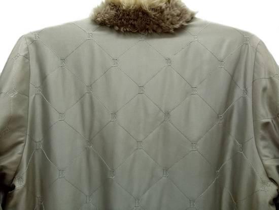Balmain 🔥FINALDROP♨Reversible Balmain Paris Fur and Silk Jacket RARE Design Size US L / EU 52-54 / 3 - 10