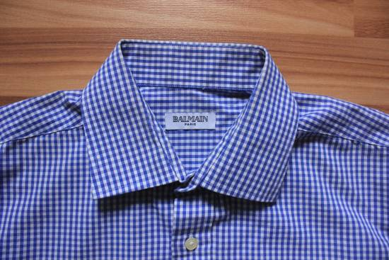 Balmain Balmain Paris Authentic Men's Checkered Shirt Size US XL / EU 56 / 4 - 2