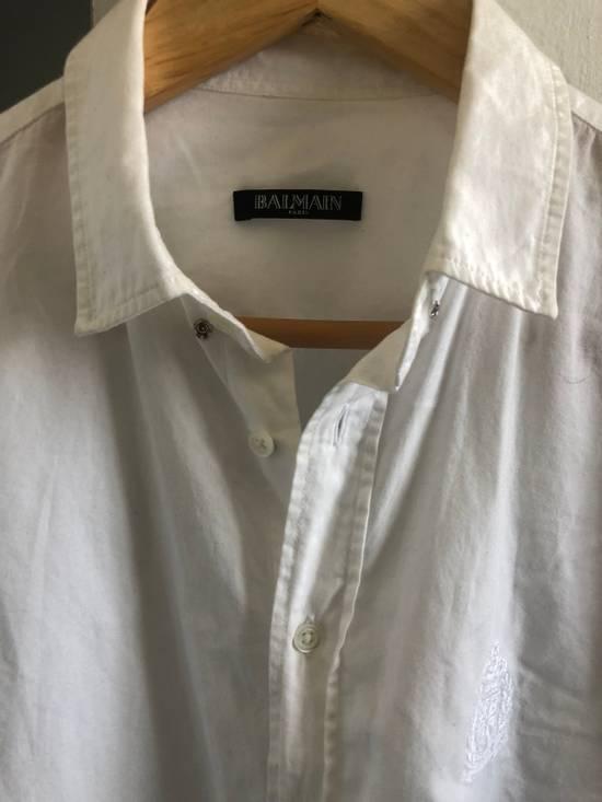Balmain Balmain Long Sleeve Formal Shirt Size US L / EU 52-54 / 3 - 1