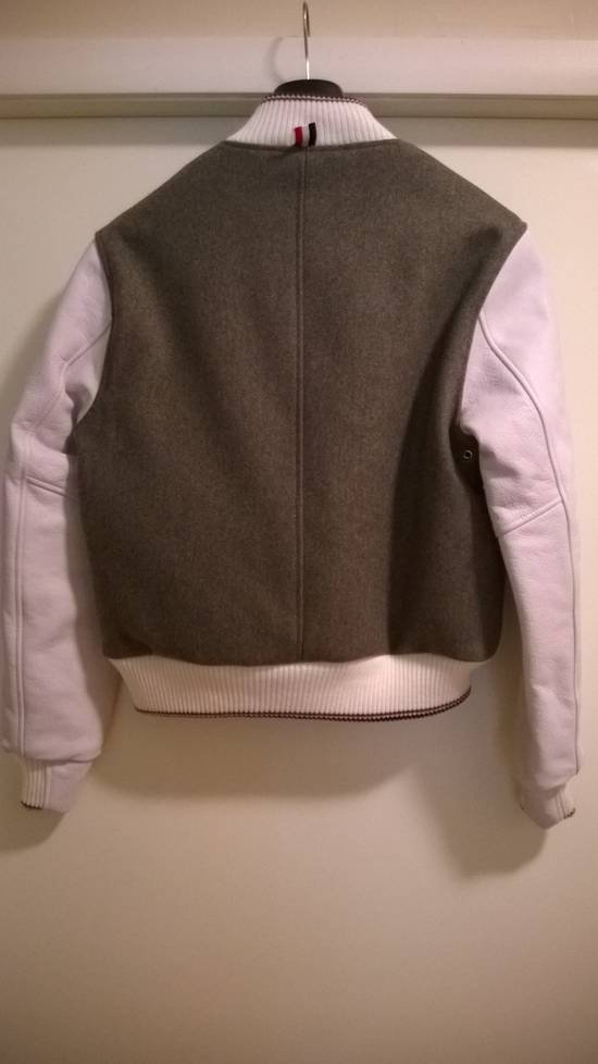 Thom Browne Size 0 New Wool Leather Varsity Bomber Size US XS / EU 42 / 0 - 4