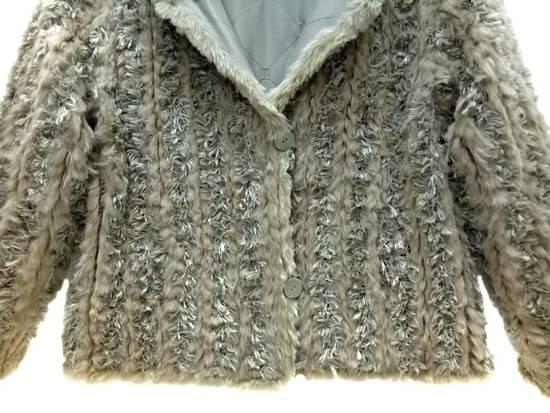 Balmain 🔥FINALDROP♨Reversible Balmain Paris Fur and Silk Jacket RARE Design Size US L / EU 52-54 / 3 - 13