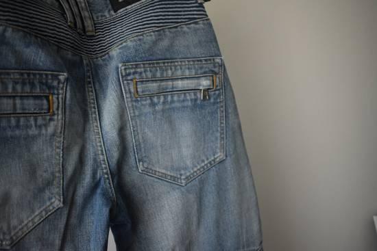 Balmain Balmain Biker Denim Jeans Size 33 Size US 33 - 5