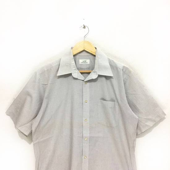 Balmain Vintage PIERRE BALMAIN Paris Casual Tee Shirt Button Up Plaids & Checks Striped Size US L / EU 52-54 / 3 - 1