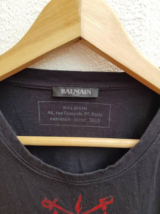 Balmain Balmain Paris Heatwave Automne-Hiver 2015 T-Shirt Size US XS / EU 42 / 0 - 3