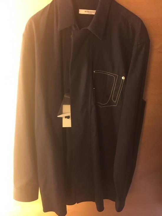 Givenchy Givenchy Dark Blue Shirt Size US M / EU 48-50 / 2