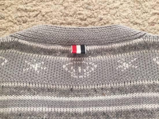 Thom Browne Gray Sweater Size 4 $650 Size US XL / EU 56 / 4 - 4