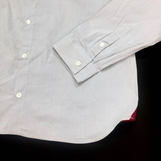 Balmain Fine Stripe Button Down Shirt NWT Size US L / EU 52-54 / 3 - 8