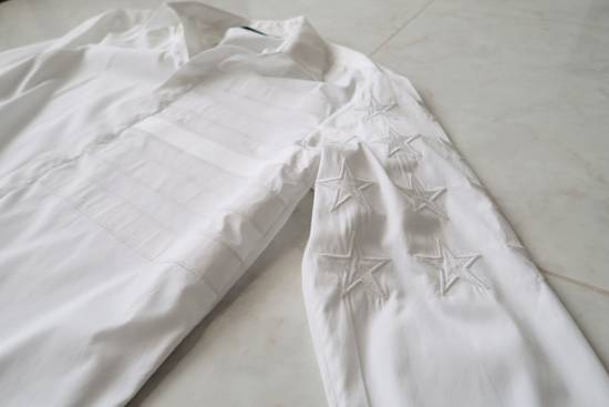 Givenchy Givenchy Stars & Stripes Embroidered Mens Dress shirt Size US L / EU 52-54 / 3 - 2
