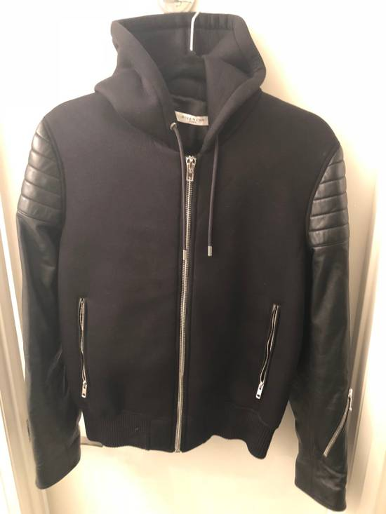 Givenchy Leather And Neo Jacket Size US M / EU 48-50 / 2