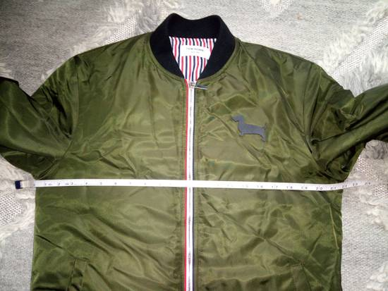 Thom Browne Bomber Jacket With Leather Dog Patch 3 / 42 / L MINT Size US L / EU 52-54 / 3 - 11