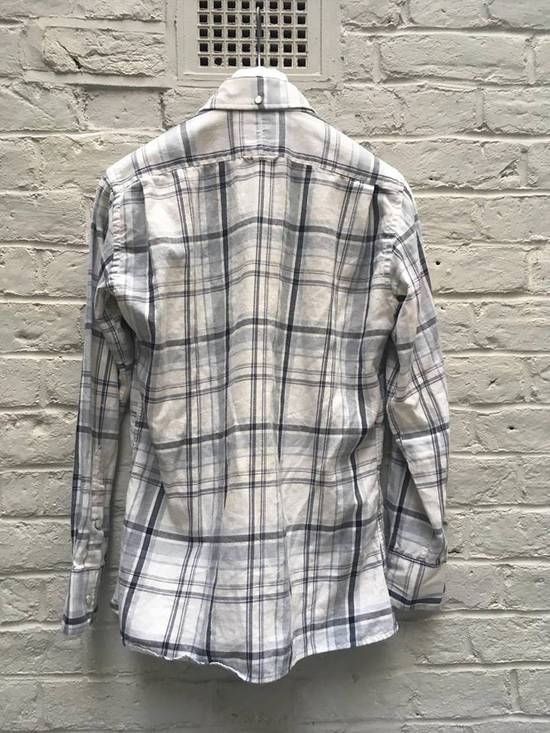 Thom Browne Aw2008 Pearl Snap Enclosure Flannel Size US M / EU 48-50 / 2 - 4
