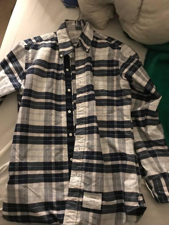 Thom Browne Thom Browne Madras Plaid Cotton Shirt Size US M / EU 48-50 / 2 - 3