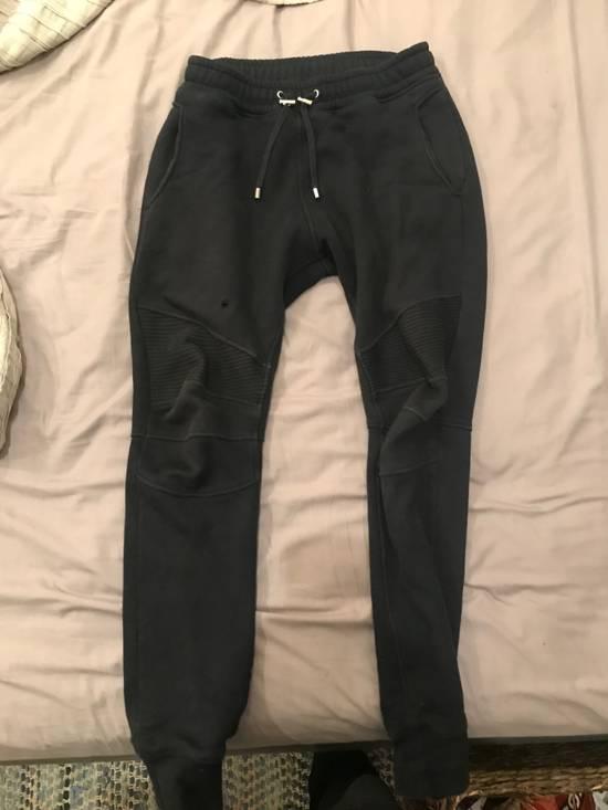 Balmain Sweatpants Ribbed Biker Balmain Size US 30 / EU 46