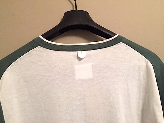 Thom Browne Green-White Color Block Sweater NEW Size US XL / EU 56 / 4 - 2