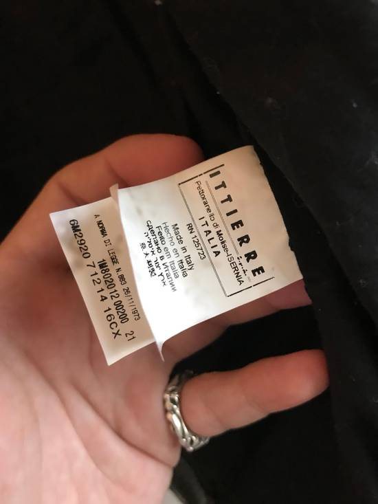 Balmain $1200 Last Drop Before Delete Perforated Eco Leather Vest Black Size US M / EU 48-50 / 2 - 7