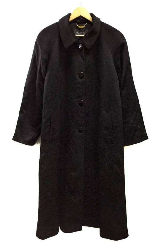 Balmain HARDCORE RARE!!! PIERRE BALMAIN BLACK TRENCH COAT WOOL (EXCELLENT CONDITION) Size US L / EU 52-54 / 3 - 5
