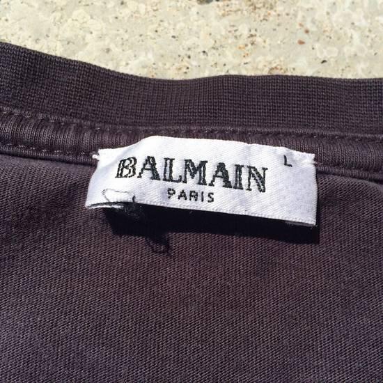Balmain Balmain Longsleeve T Grey/brown Size US L / EU 52-54 / 3 - 1