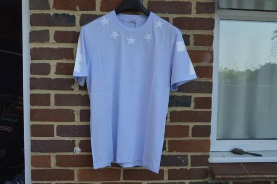 Givenchy Baby Blue 5 Stars T-shirt Size US XL / EU 56 / 4