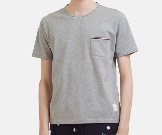 Thom Browne Brand New Thom Browne Signature Tee In Grey Size US XS / EU 42 / 0