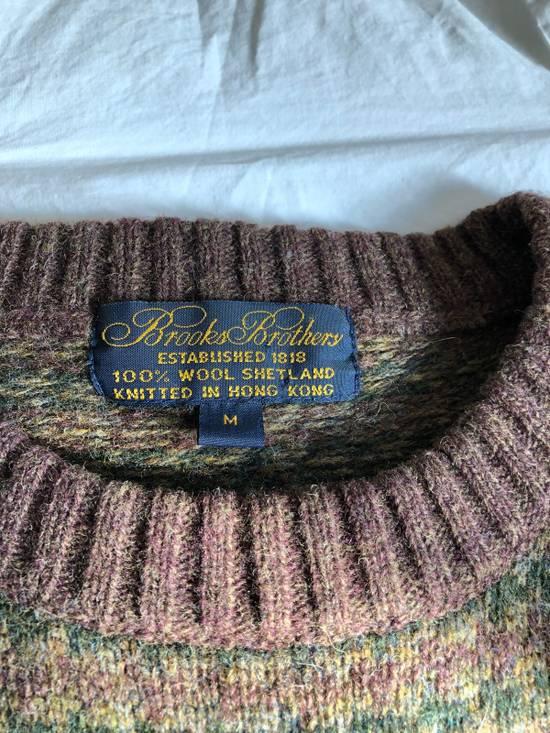 Brooks Brothers 100% Shetland Wool Crew Neck Sweater Size US M / EU 48-50 / 2 - 4