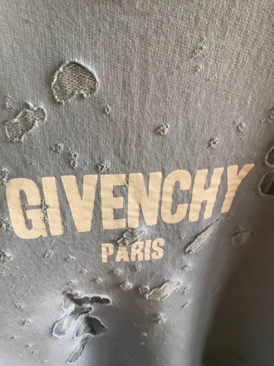 Givenchy Distressed Logo Sweatshirt Size US XL / EU 56 / 4 - 1
