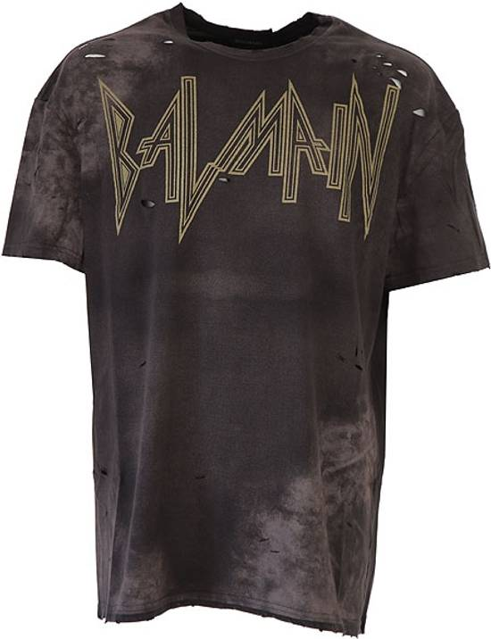 Balmain balmain oversized,distressed-t shirt Size US XL / EU 56 / 4
