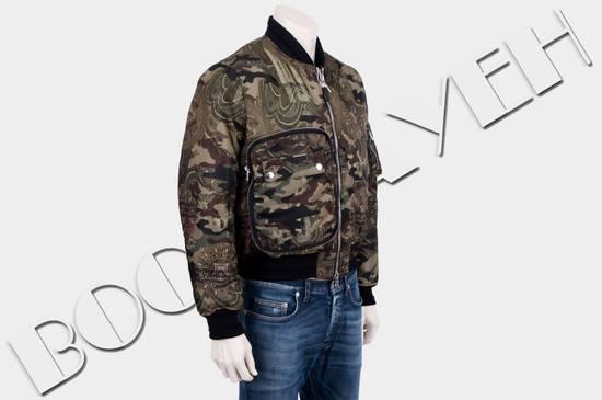 Givenchy 2995$ American Dollar Camouflage Bomber Jacket Size US S / EU 44-46 / 1 - 6