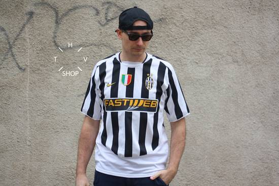 official photos 4183c 56bc4 Nike Juventus Pavel Nedved home t-shirt tshirt jersey soccer football 2003  2004 vintage #11 M