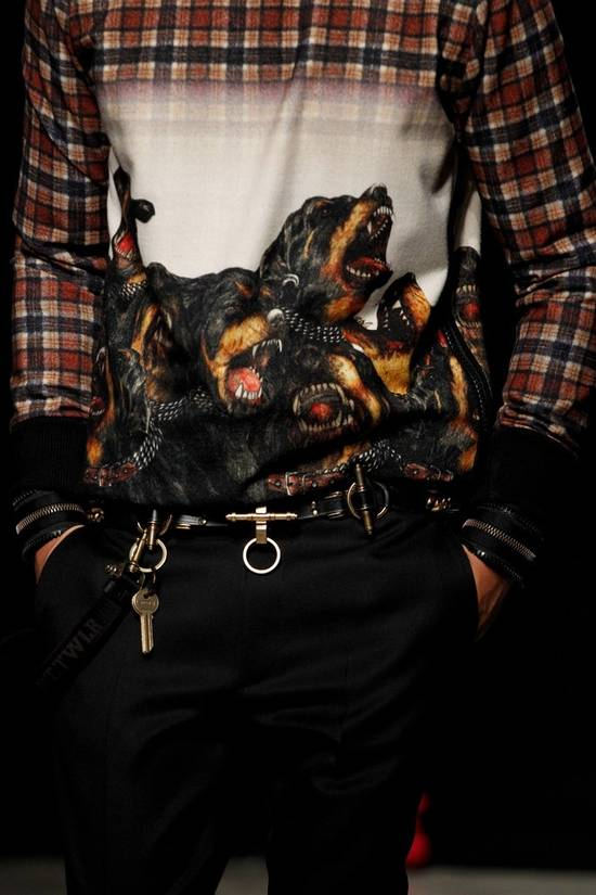 Givenchy FW11 ZIP CUFF SHIRT Size US XS / EU 42 / 0 - 1