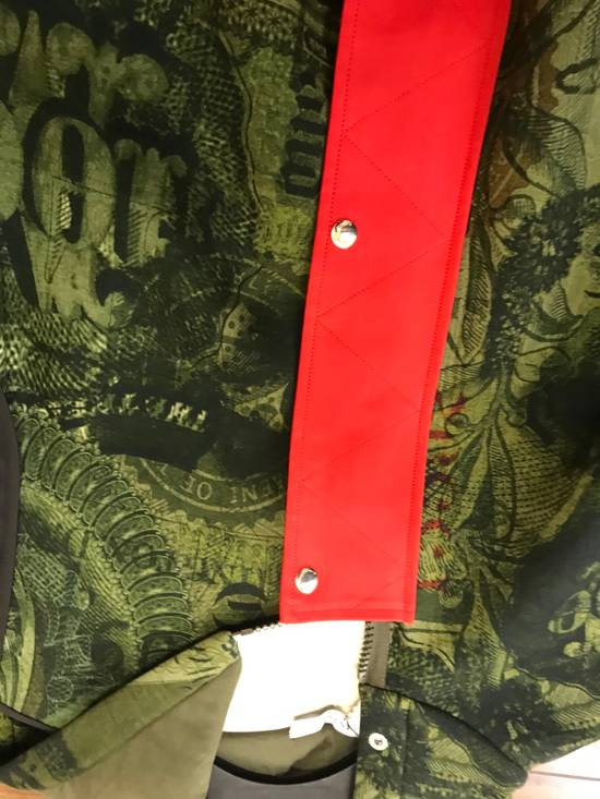 Givenchy Padded Removable Sleeve C Note Printed Jacket Size US M / EU 48-50 / 2 - 3