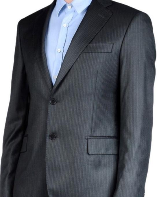 Balmain Brand New Grey Balmain Suit Size 52R - 1