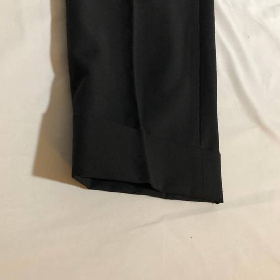 Givenchy Givenchy Cuffed Wool Uniform Pants Size US 36 / EU 52 - 2