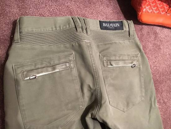Balmain Distressed Olive Green Balmain Size US 31 - 11