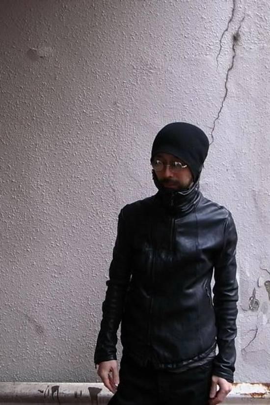 Julius JULIUS _7 ma high neck black lamb biker jacket slim fit Japan Size US S / EU 44-46 / 1 - 2