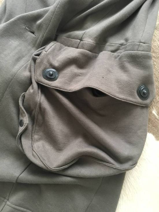 Julius Japan made long jersey oversize Popper fastening Gasmask pocket jacket Size US S / EU 44-46 / 1 - 19