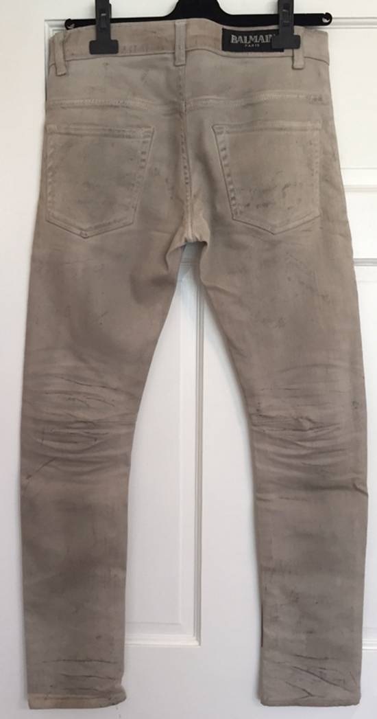 "Balmain FW11 Decarnin ""Dirty"" Slim Jeans. (fit 28) Size US 29 - 6"