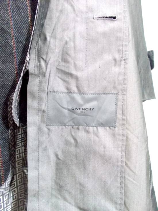 "Givenchy Final Drop..!! Luxury Brands Designer Givenchy Paris 2006. AW07 01-M 97334A Haris Gray Long Winter Trenchcoat L-24""x37"" Size US L / EU 52-54 / 3 - 6"