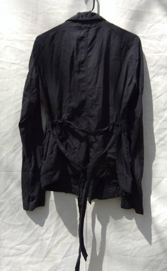 Julius Black Belted Asymmetric Shirt s/s13 Size US M / EU 48-50 / 2 - 4