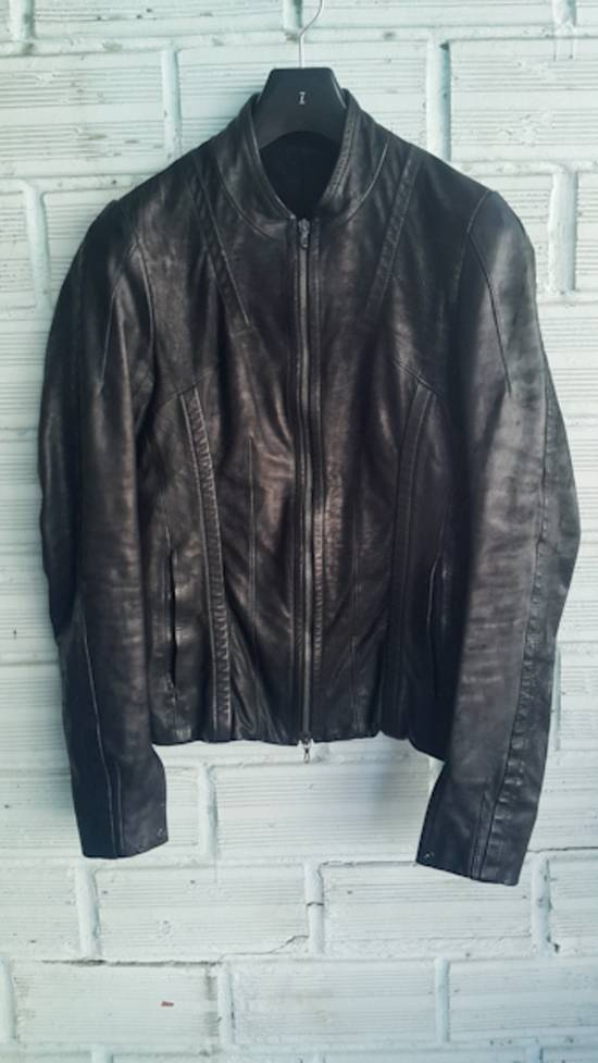 Julius Black Calfskin Jacket SS12 Size US S / EU 44-46 / 1