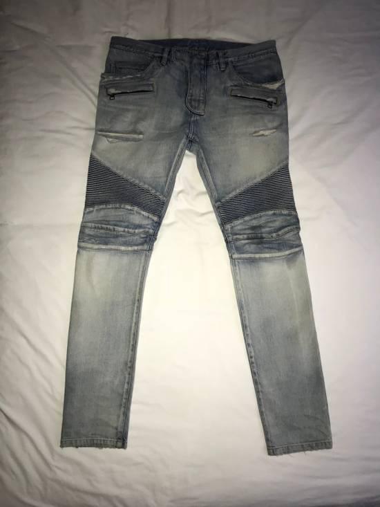 Balmain Balmain Biker Jeans (lightly Pre-Distressed) Size US 34 / EU 50