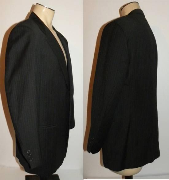 Givenchy Vintage Pin Striped Single Button Blazer Size 42R - 10