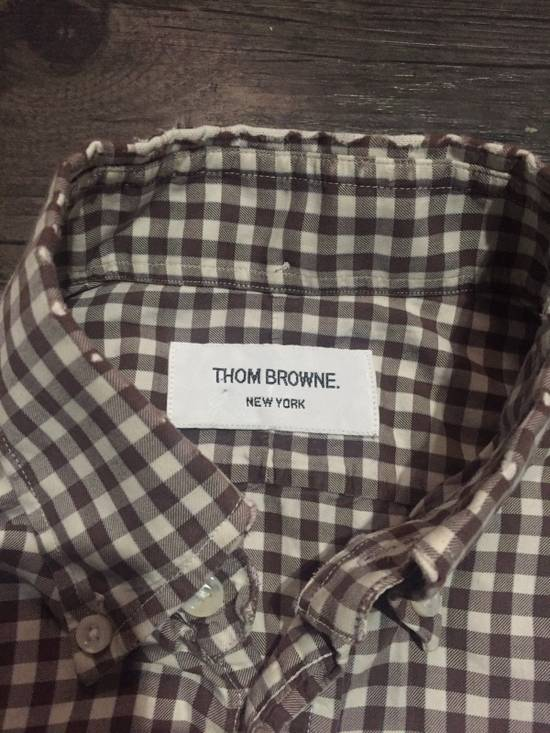 Thom Browne CHECKERED BUTTON UP SHIRT Size US S / EU 44-46 / 1 - 2