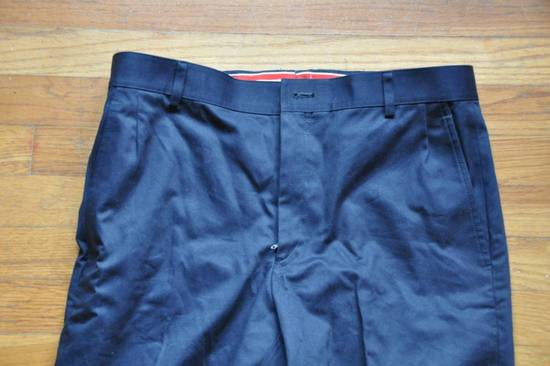Thom Browne Navy Unstructured Chino Size US 31 - 3