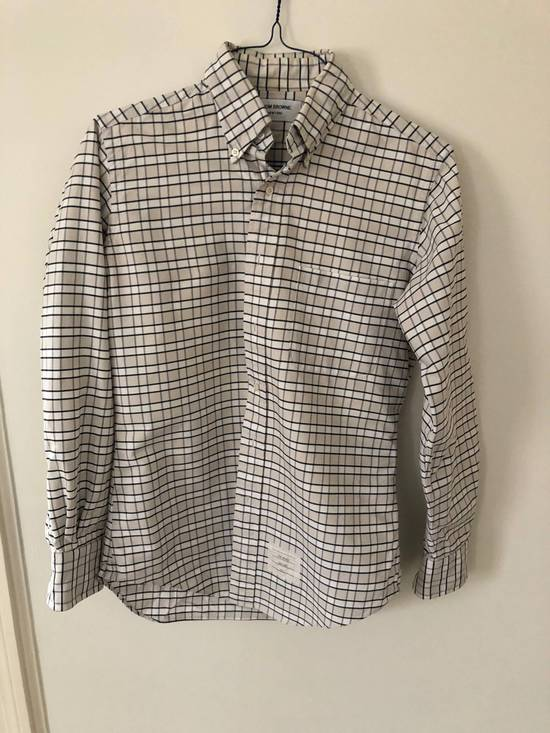 Thom Browne Checkered Oxford Size US M / EU 48-50 / 2
