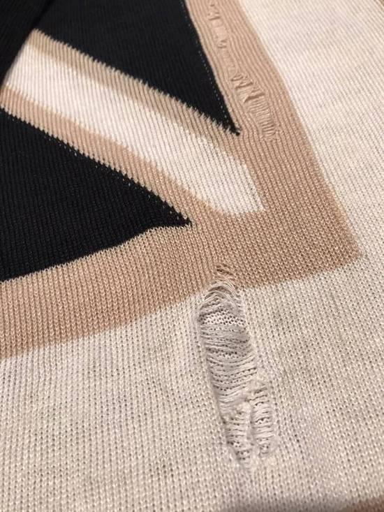 Balmain Union Jack Sweater beige/blk Size US XL / EU 56 / 4 - 5