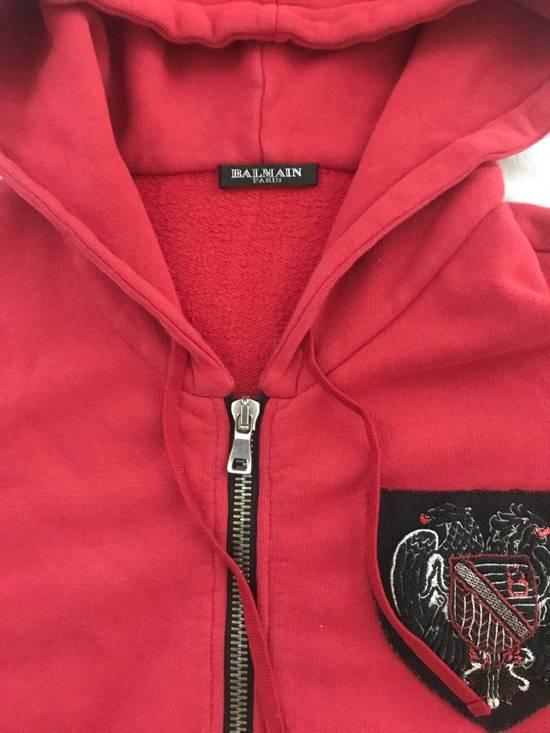 Balmain 12FW Red Hoodie Size US M / EU 48-50 / 2 - 2